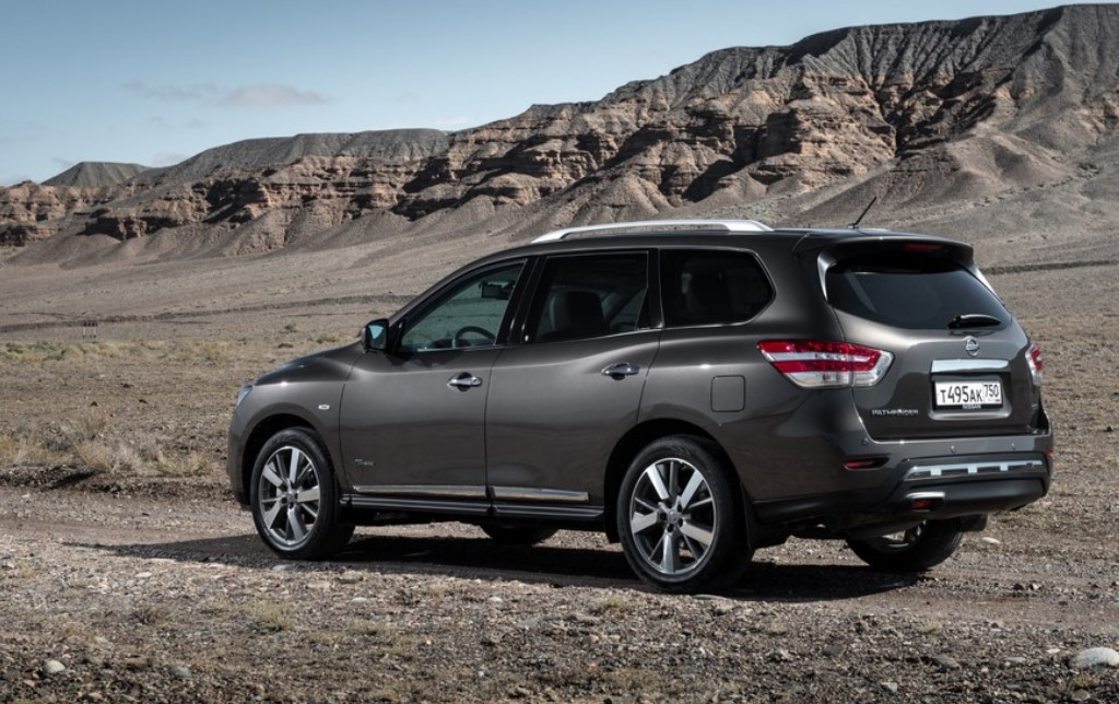 2021 Nissan Pathfinder Color Options