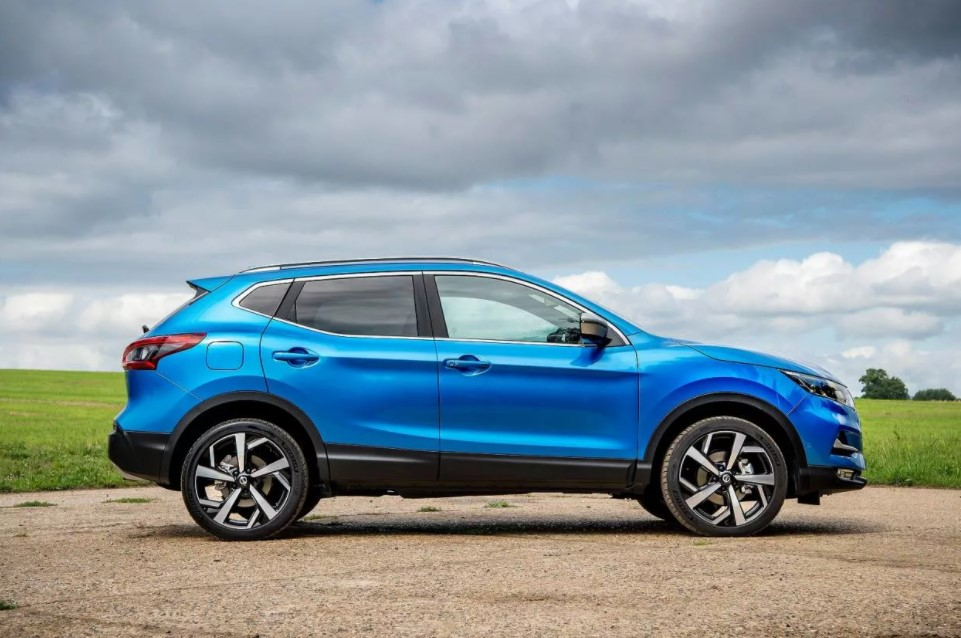2021 Nissan Qashqai Color Changes