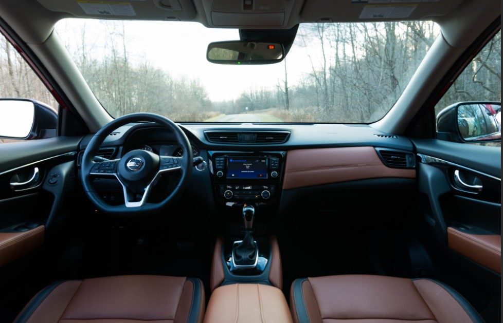 2021 Nissan Rogue Electric Interior