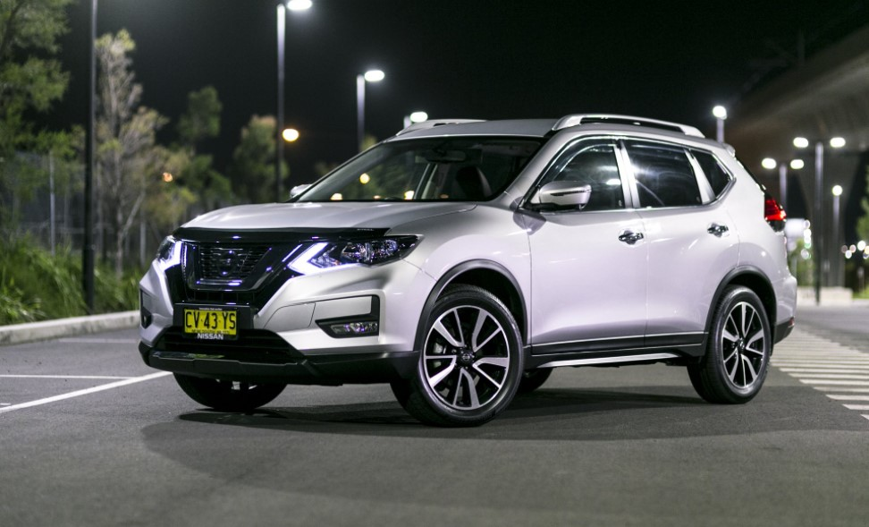 2021 Nissan X-Trail N-Trek Color Change