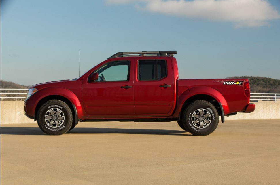2022 Nissan Frontier Towing Capacity