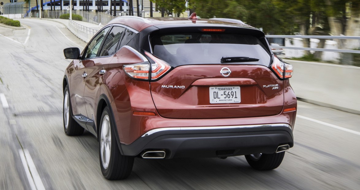 2022 Nissan Murano Color Changes