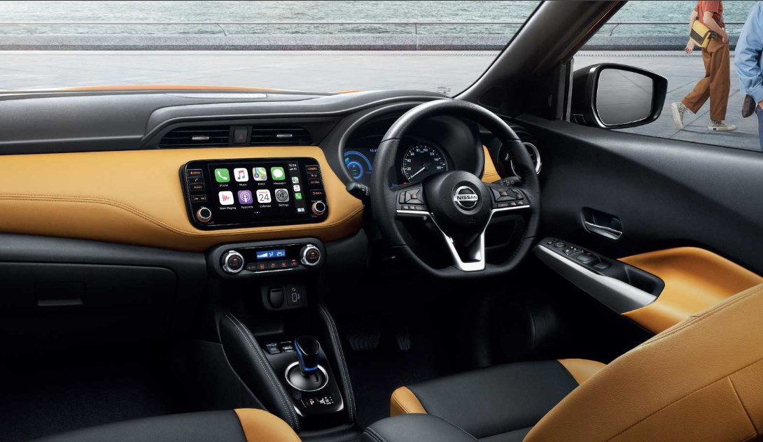 2021 Nissan Kicks Interior