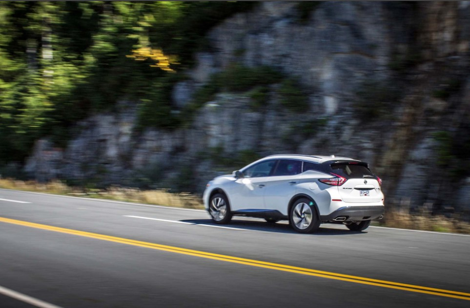 2021 Nissan Murano Specification Change