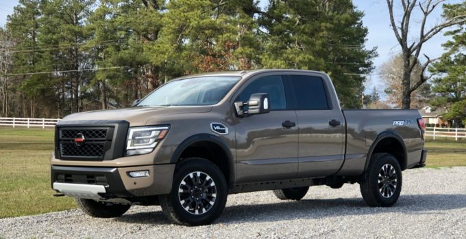 2021 Nissan Titan Warrior Specifications