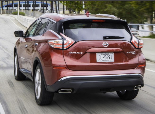 2022 Nissan Murano Color Change
