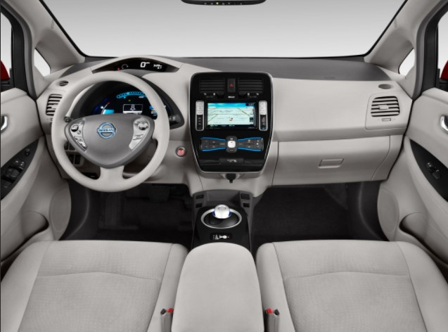 2022 Nissan Leaf Interior