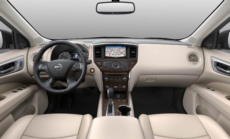2022 Nissan Pathfinder Electric Interior